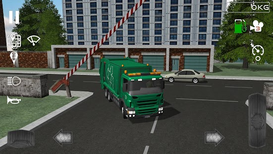 Trash Truck Simulator- screenshot thumbnail