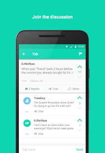 Yik Yak - Your Local Feed- screenshot thumbnail