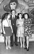 Photo: Luty 1973 - bal maskowy, druga z lewej - G. Łukasz