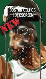 Boston Celtics LockScreen - náhled