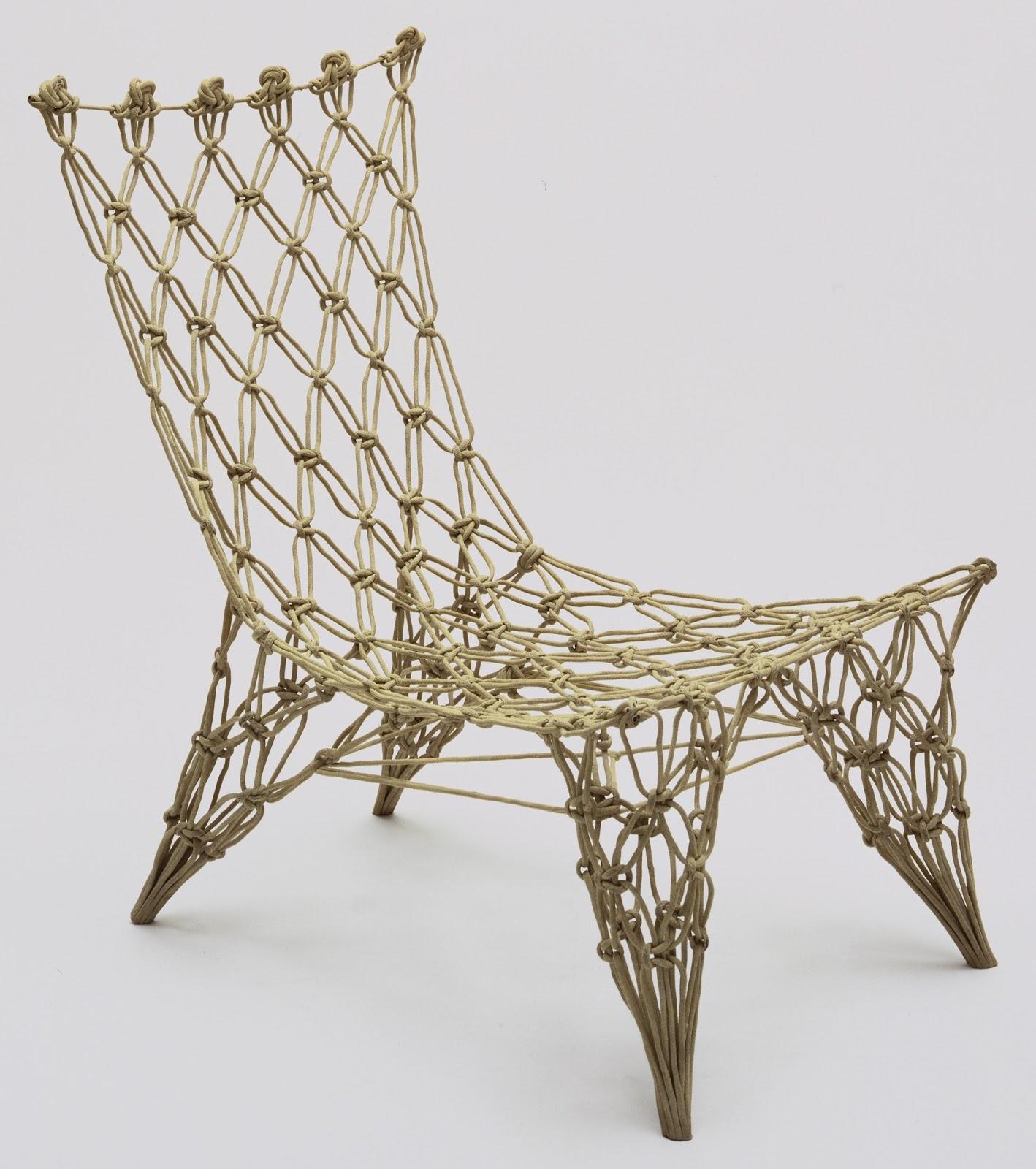 Knotted Chair hasil karya internasional Marcel Wanders - source: moma.org