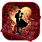 Romantic Valentines Rose Love Keyboard