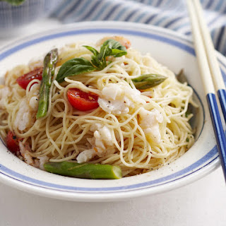 Pasta With Crab Meat And Asparagus Recipes