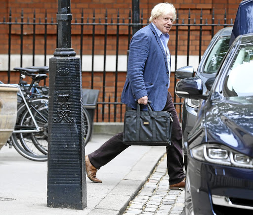 Talks on the cards: Boris Johnson, who resigned as Britain's foreign minister this week. US President Donald Trump said he might speak to the hardline Brexiteer during his trip to Britain. Picture: REUTERS