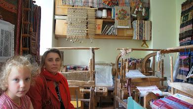 Photo: Мастерская ткачества. Workshop weven.