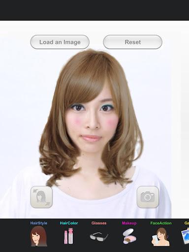 发型 化妆 整形 模拟 - SimFront