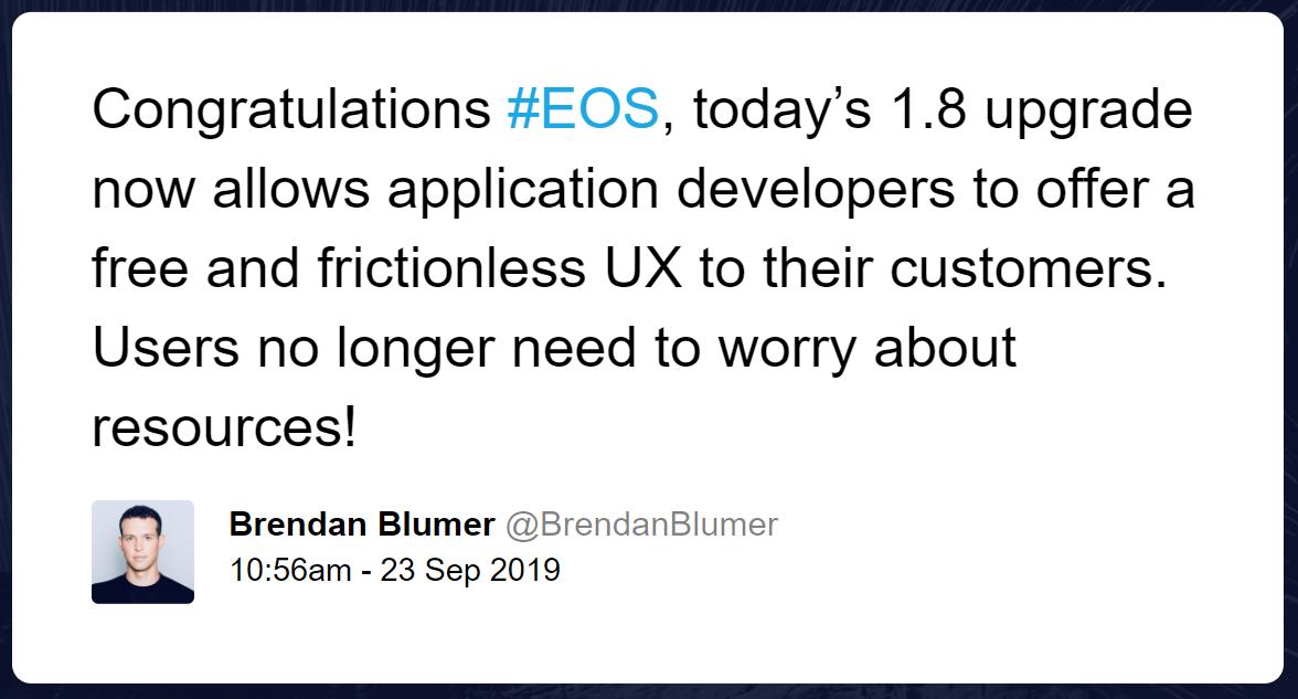 Brendan Blumer tweet
