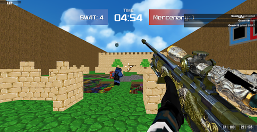 Advanced Blocky Combat SWAT apkpoly screenshots 5