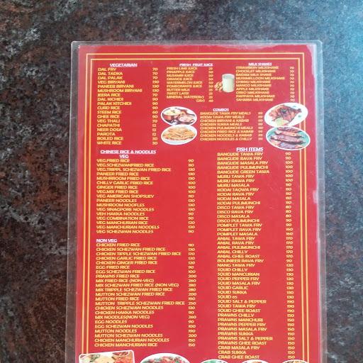 Vidya Restaurant menu 1