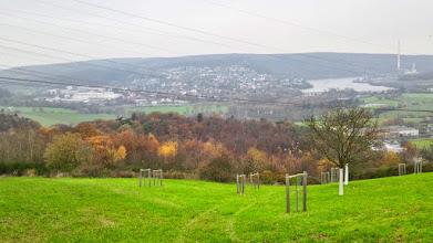 Photo: Blick von der Homberger Höhe auf Wetter an der Ruhr.
