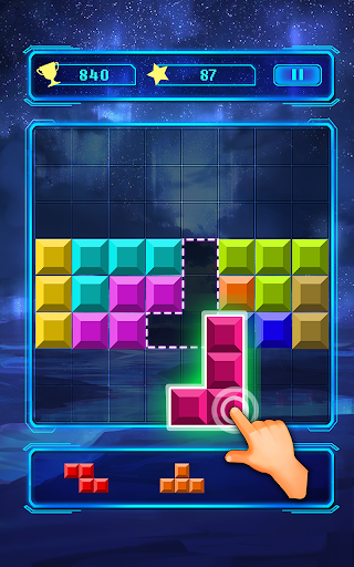 Brick block puzzle - Classic free puzzle apkmr screenshots 10