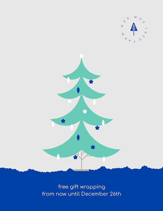 Free Gift Wrapping - Christmas Template