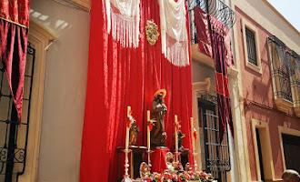Altares en el Casco Histórico