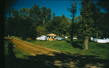 Photo: Campground A August 31st, 1958