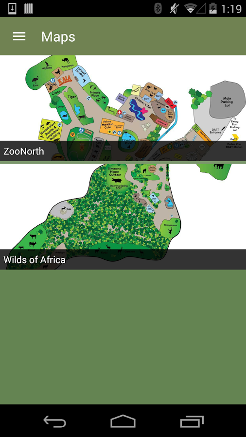 Dallas Zoo- screenshot