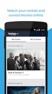 TalkTalk TV - Watch films & TV- screenshot thumbnail