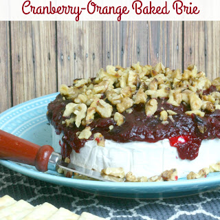 Cranberry-Orange Baked Brie