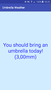 Umbrella Weather screenshot 2