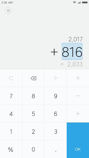Mi Calculator 10.1.1 screenshots 2