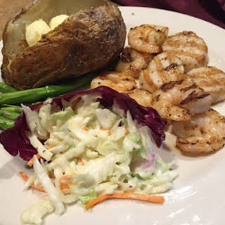 Grilled Shrimp and Scallops.