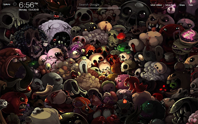 The Binding of Isaac Rebirth Game Wallpapers