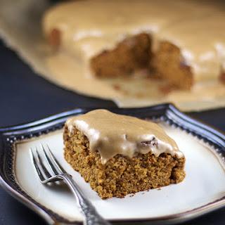 Gluten-Free Vegan Glazed Pumpkin Muffin Cake