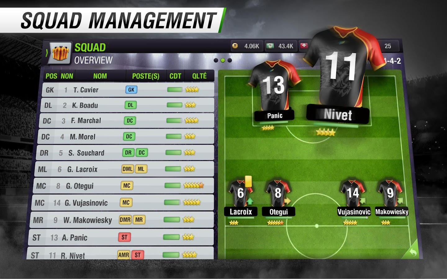 Top Eleven Be a Soccer Manager- screenshot