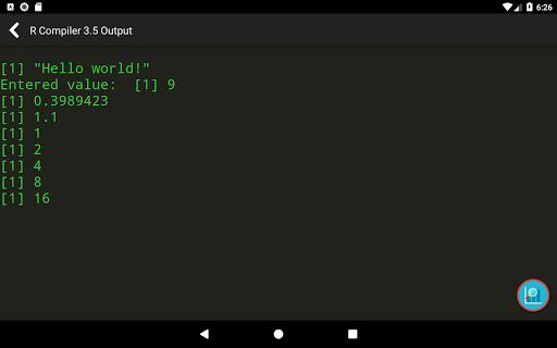 R Programming Compiler screenshot 16