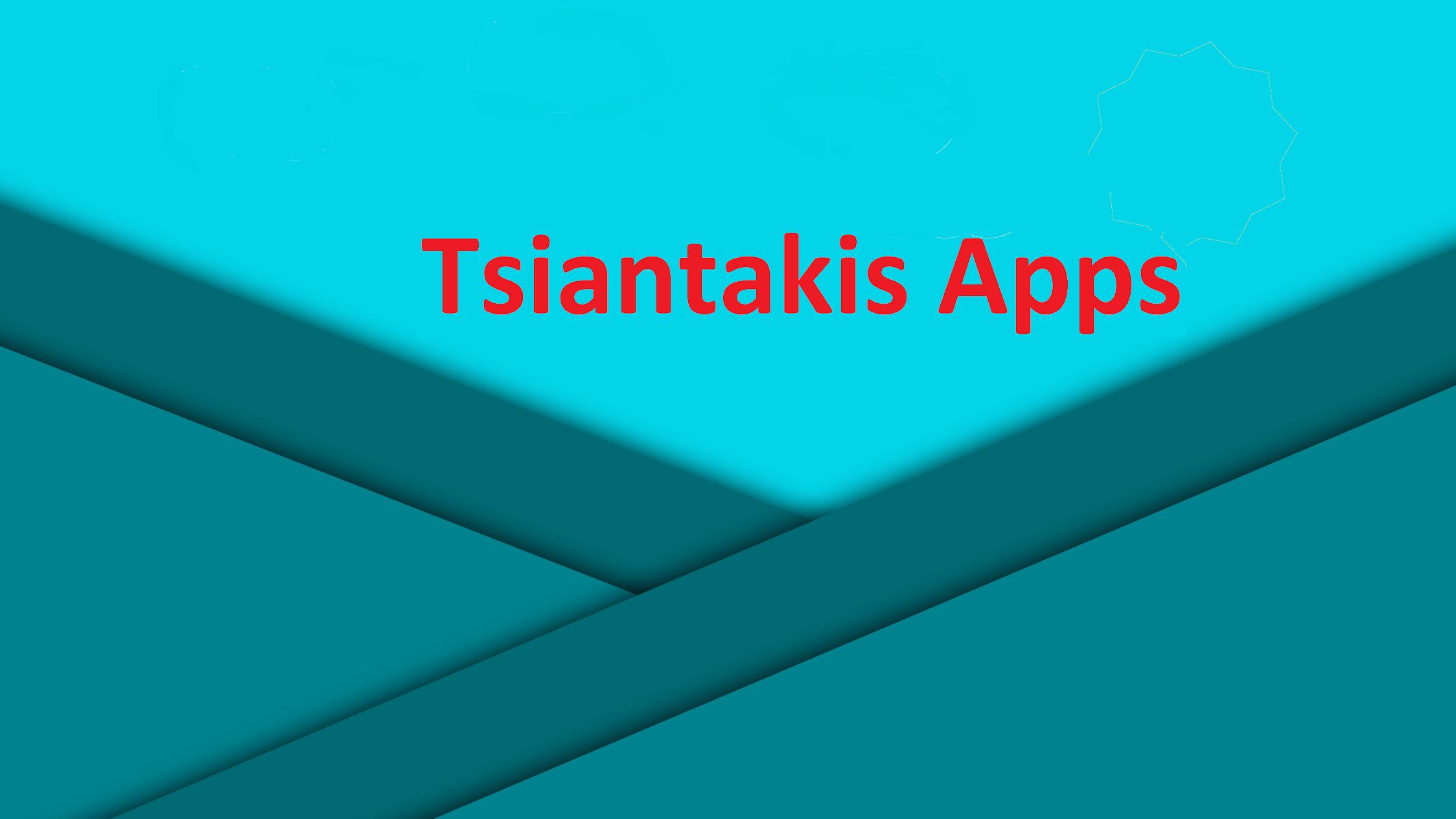Tsiantakis Apps