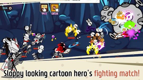 Legend of the cartoon MOD (High Damage) 2