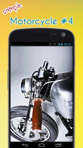 Cool Motorcycle Wallpaper screenshot 4
