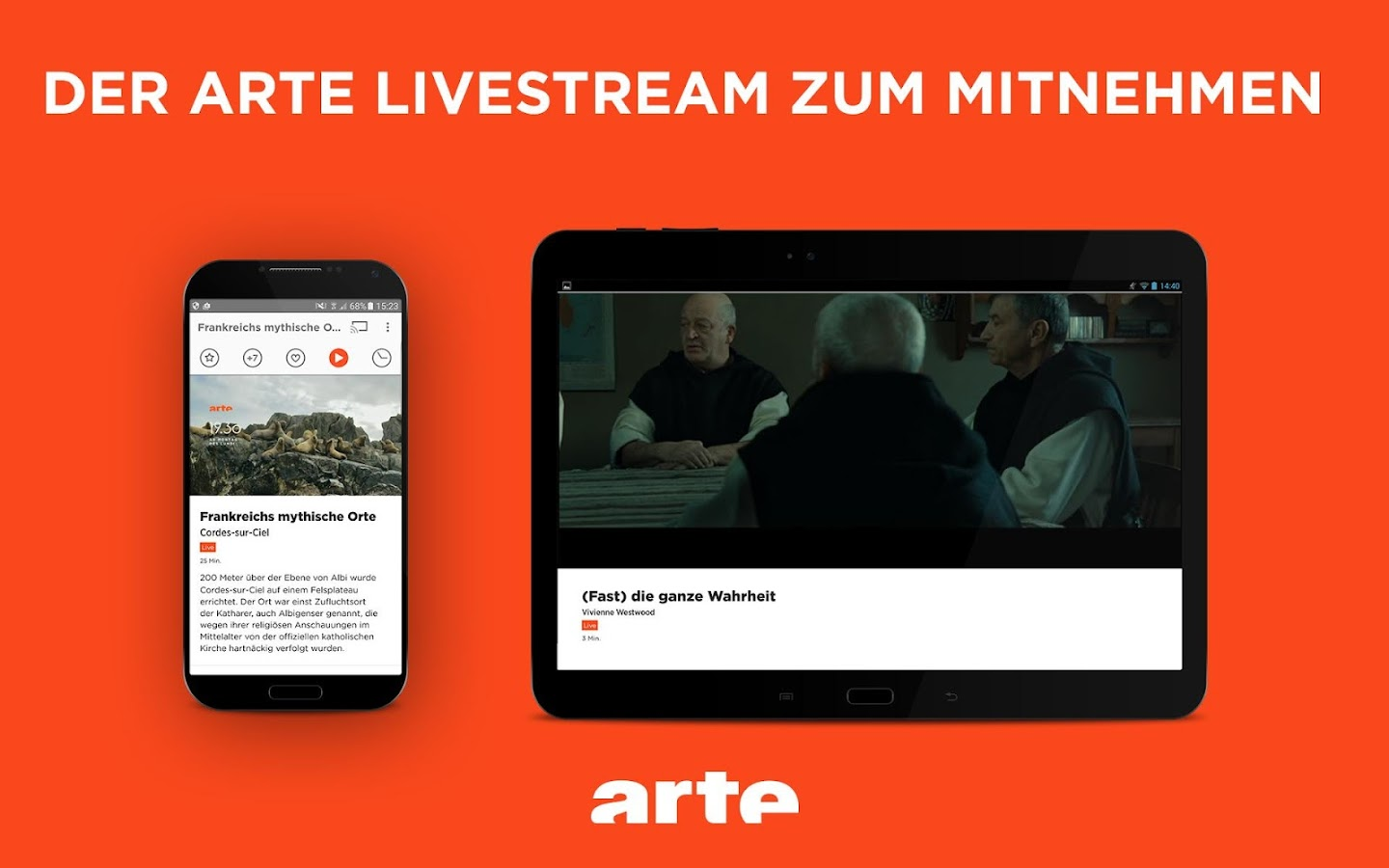 ARTE – Streaming and Catch-up- screenshot