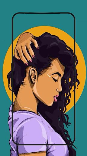 Cute black girls wallpaper melanin screenshot 6