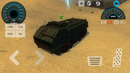 Army Vehicle Driving Simulator- screenshot thumbnail