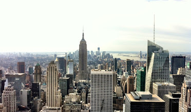 Photo: Downtown from Top of the Rock (Low Saturation/High Contrast)