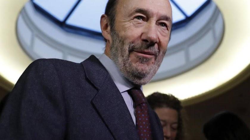 El exministro Alfredo Pérez Rubalcaba, en una imagen de archivo. /Agencias