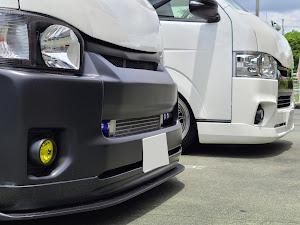 ハイエースバン TRH200V SUPER GL 2018年式のカスタム事例画像 keiji@黒バンパー愛好会さんの2020年07月12日18:01の投稿