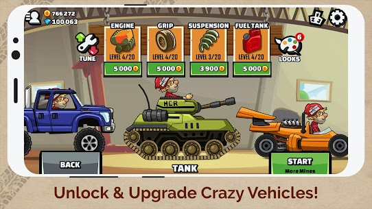 Hill Climb Racing 2 Apk MOD (Unlimited Money) 2