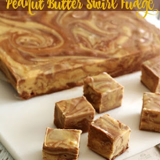 Chocolate Peanut Butter Fudge Swirl