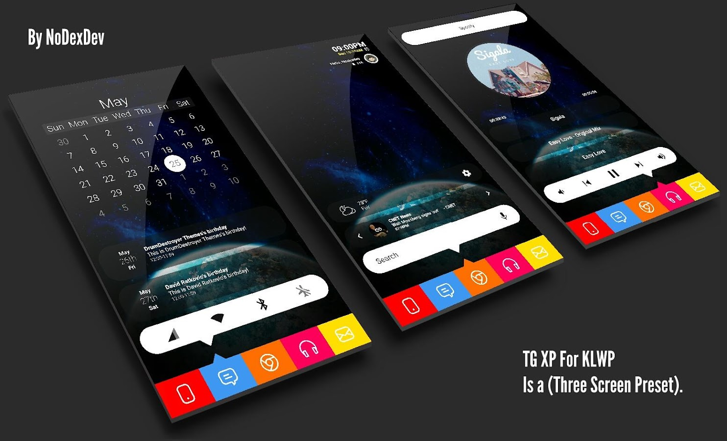 TG Kollection For KLWP- screenshot