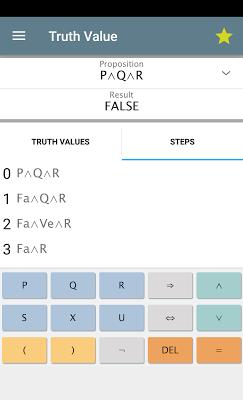 Logic Calculator Free - screenshot