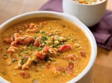 Corn Crab & Crawfish Bisque or Chowder