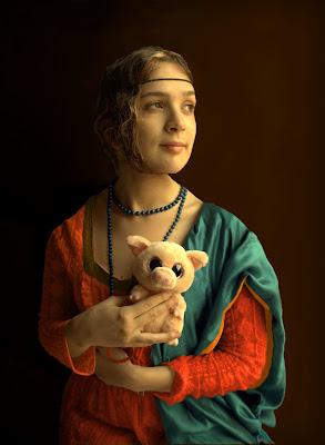 Leonardo da Vinci, Dama col Porcellino di Dariagufo
