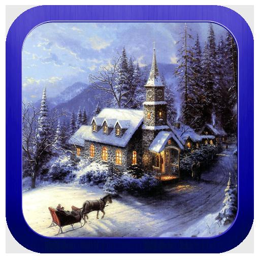 解谜の冬の夜のエスケープ LOGO-記事Game