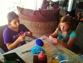 Photo: crochet classes