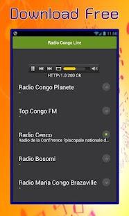 Radio Congo Live - náhled