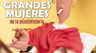 Cartel de la Exposición Grandes Mujeres de la Plastihistoria en Huércal Overa.