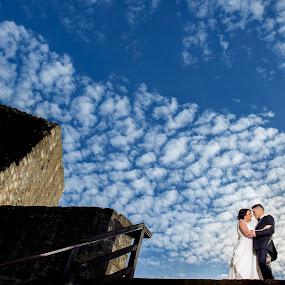Blue love by Nenad Ivic - Wedding Bride & Groom