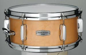 "12"" x5,5"" Tama Soundworks Maple Snare - DMP1255-MVM. Finish: Matte Vintage Maple"