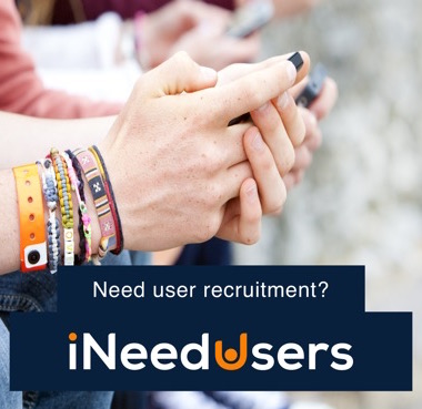 i Need Users UX Participant Recruitment